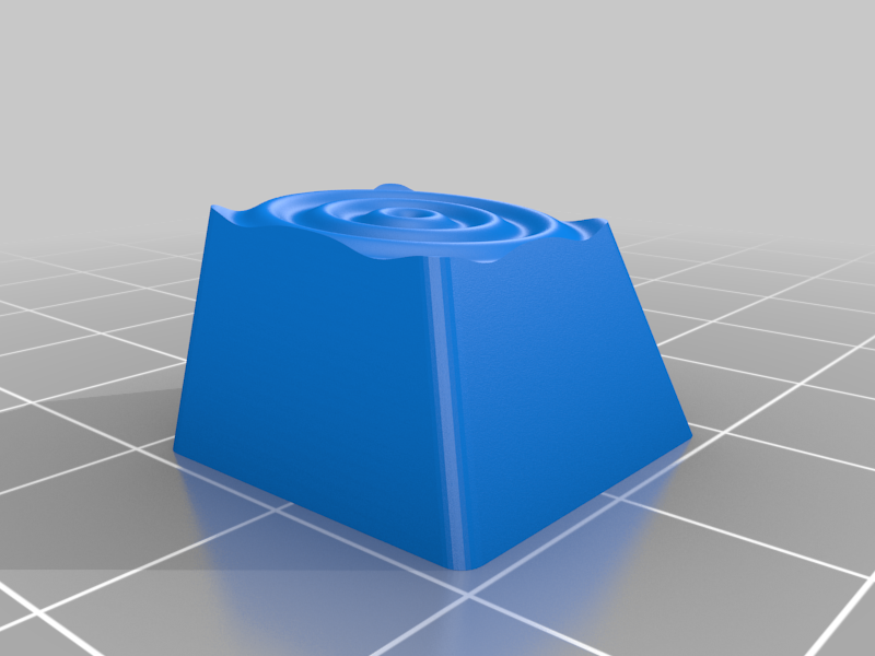 wavy_key.png Download free STL file Math Keycaps • 3D printer design, rsheldiii