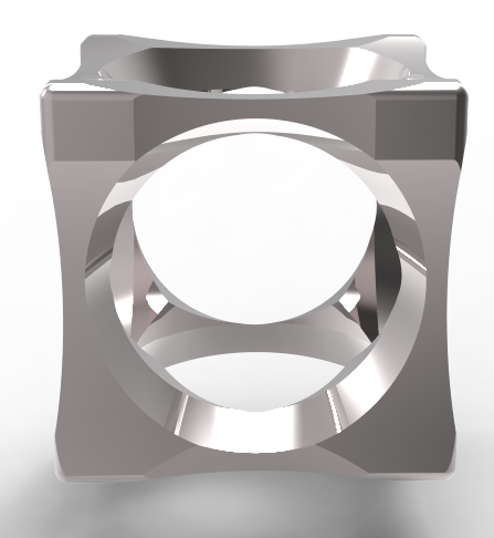 cube2-ring3.PNG Download OBJ file 3 in 1 Clock Ring • Model to 3D print, plasmeo3d