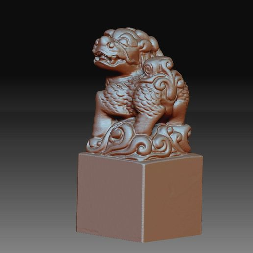 Kirin2.jpg Download free OBJ file Brave Troops/Mythical Wild Animal/PiXiu • 3D printing object, stlfilesfree