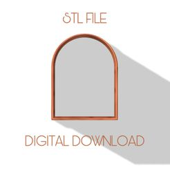 1285D0CE-2599-4ABC-83BB-21C363C863BE.jpeg Download STL file LARGE ARCH CLAY CUTTER  • 3D printable template, carolina19ng