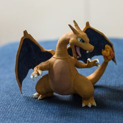3c0d8b46e8f488760e8948b80512243f_display_large.jpg Download free STL file Charizard • 3D print model, KerberosFi