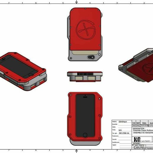 Ensemble_Coque_Multicorps_1.jpg Download free STL file BATTERY FOR IPHONE5 • 3D printing design, DjeKlein