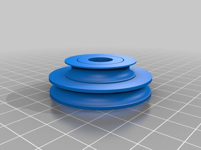 b5946bd970c505138bbad377cfc77aa7.png Download free SCAD file Emco Unimat 3 low and high speed pulley set • 3D printer design, 1944GPW