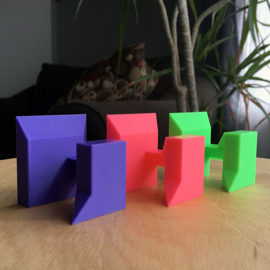 resize-1.jpg Download free STL file Puzzle Cube (easy print no support) • 3D printer template, wildrosebuilds