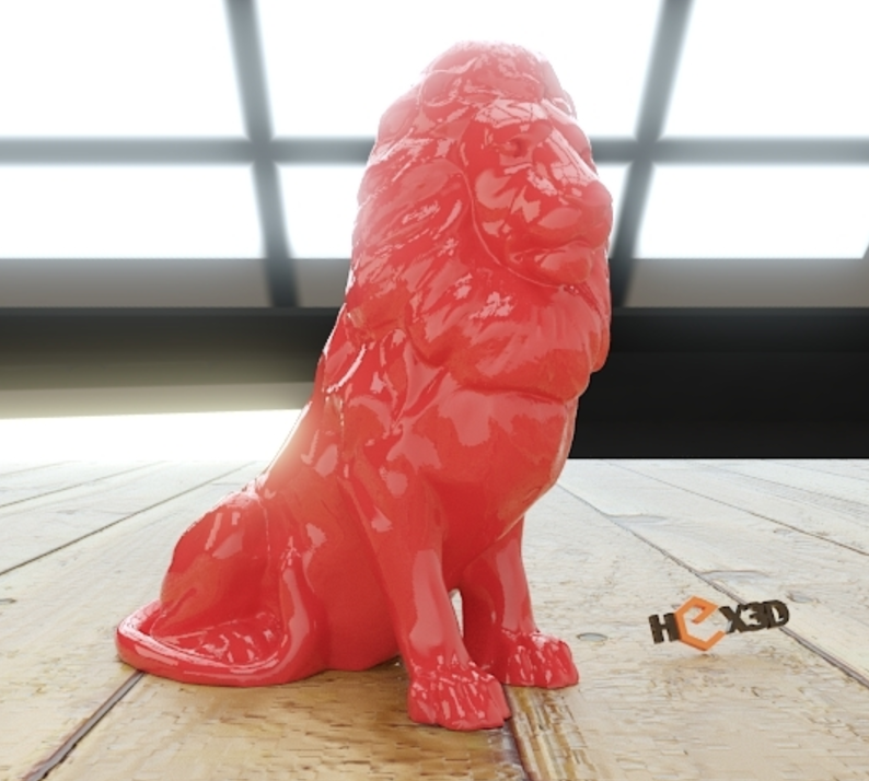 Capture d'écran 2016-12-13 à 12.06.48.png Download free STL file Lion HD (no supports required) • 3D printing object, Geoffro