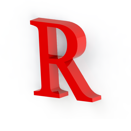 R2.png Download free STL file Letras / abecedario completo • Object to 3D print, Lubal