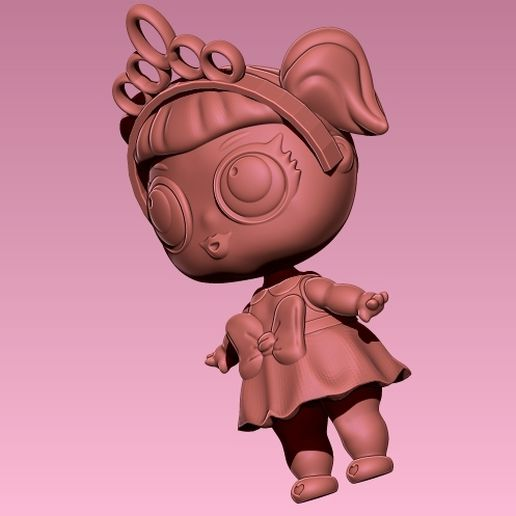 LOL 10.jpg Download STL file LOL SURPRISE! Looks Like Based On Doll Model • Template to 3D print, ALTRESDE