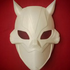 20181105_201508_2.jpg Download STL file Cheshire Mask • Object to 3D print, VillainousPropShop