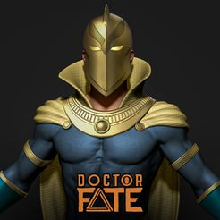 Cover1.jpg Download file Doctor Fate - DC comics • 3D printing object, Mark3design