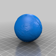 earth_65Mya_1_25_10_7.png Download free STL file Earth from 540 to 20 Mya scaled one in sixty million • 3D printable design, tato_713