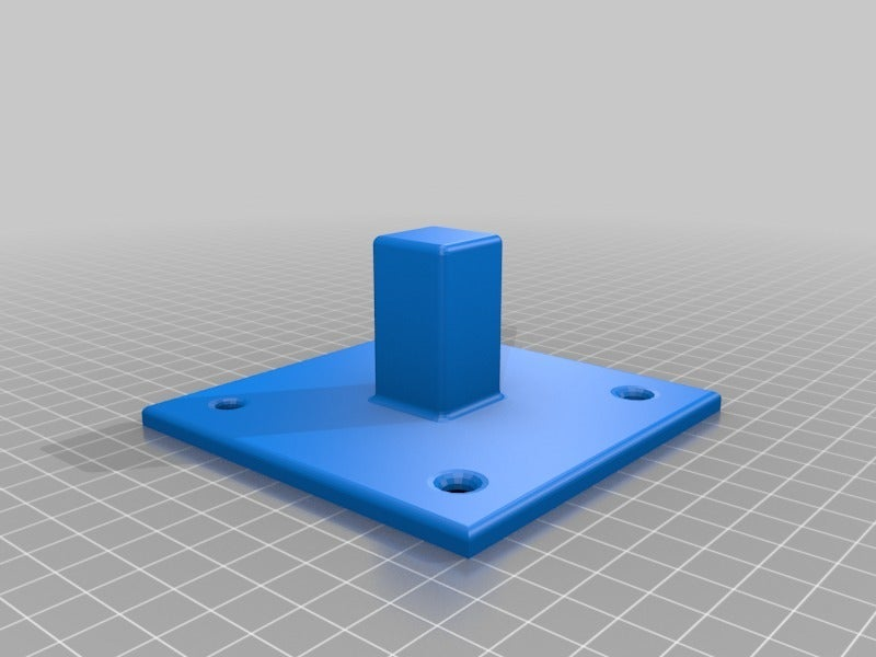 2b032996c4fd3ac7803bf72e93baf373.png Download free STL file 25mm Square steel tube joiners and mounts • 3D printable object, KShapley