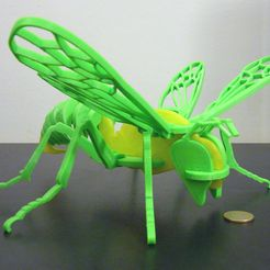 DSCN2635_-_3_ufak.jpg Download free STL file Bee puzzle • 3D printing model, Mendelssohn