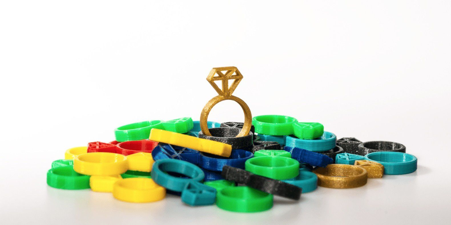 Here is a selection of the best rings 3D models to make with a 3D printer