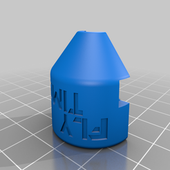 Pagoda_shell_L.png Download free STL file FlyTime 5.8 GHz Pagoda Antenna Shell • Object to 3D print, Printfully3d