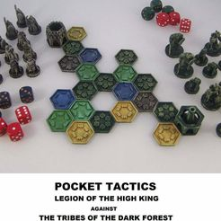 Pocket_TacticsA_display_large.jpg Download free STL file Pocket-Tactics (First Edition) • 3D print object, Dutchmogul