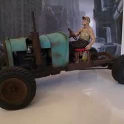 IMG_0261.JPG Download STL file Ford RATROD chassis+body+engine+rims 1/10 (rc) • Object to 3D print, RCGANG93