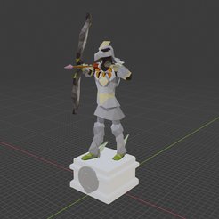 Screenshot-2021-05-30-145832.png Download free OBJ file Twisted Bow Shot - Oldschool Runescape Character Rip • 3D print design, Camchanimation