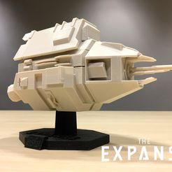 8714c82dfd4016ef993b240f33203858_display_large.jpg Download free STL file The Expanse - The Knight v2.0 • 3D printing model, SYFY