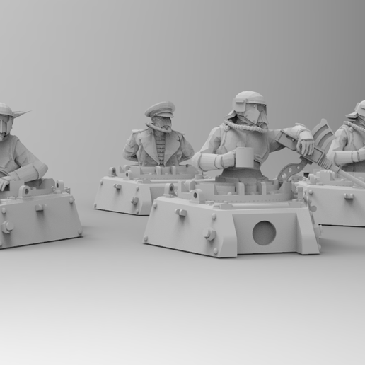 untitled.192.png Download free STL file Roman Legions - Tank Crew • 3D printing model, ThatEvilOne