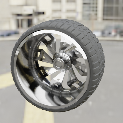 0023.png Download STL file WHEEL FOR CUSTOM TRUCK 14Ab-R5 (FRONT AND DOUBLED BACK) • Design to 3D print, Pixel3D