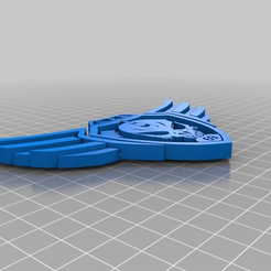 292bd227a3a1fd7c3ba2ce9afedf46ac.png Download free STL file Amicus Protectio Badge • Template to 3D print, El_Mutanto