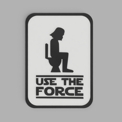 USE_THE_FORCE_2019-Jul-23_03-05-58PM-000_CustomizedView13877425771.png Télécharger fichier STL gratuit StarWars Use the Force - Darth Vader - Dual Color • Plan pour impression 3D, DaGoN