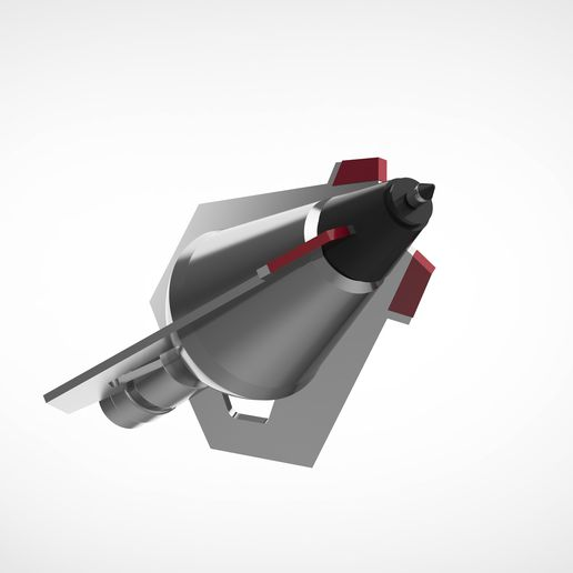 """009.jpg Download STL file The Hawkeye arrowhead 4 from the movie """"Avengers: Age of Ultron""""  • 3D printable design, vetrock"""