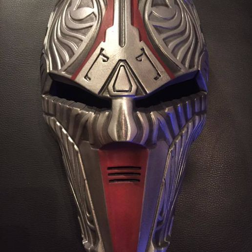 3D model sith acolyte makerslab  star wars rogue one real.jpg Download OBJ file Sith Acolyte Star Wars mask printable • Design to 3D print, 3D-mon