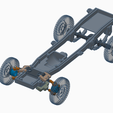 CHASSIS MOCKUP2.png Download STL file WPL D12 CHASSIS MOCKUP y placa base de la carrocería • Object to 3D print, grogamins