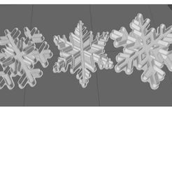 copos.jpg Download free STL file Snowflake cutter • 3D printable template, uja2