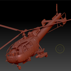 Preview1  (2).png Download OBJ file Helicopter IAR 316B • 3D printable model, DesignerWinterson