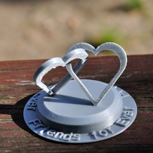 2Hearts_10.JPG Download STL file Two Hearts connected • 3D print model, meteoGRID