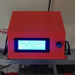 IMG_20211007_180143.jpg Download free STL file Case Control Panel for Rams 1.5 and arduino LCD 2004A • 3D printable model, Camacho23