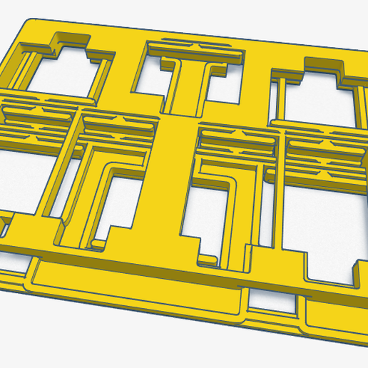 screenshot-www.tinkercad.com-2020.02_1.png Télécharger fichier STL gratuit NINTENDO SWITCH GAME CARD CASE V4 • Plan à imprimer en 3D, ckw8217