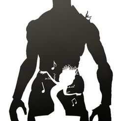 grood.jpg Download STL file Groot Stencil  • 3D printing object, ThePlayVinicius