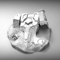 7ac4773adf2936fcf1d82dc6ddafb16a_display_large.jpg Download free STL file Space communist ship wreckage • 3D printer object, BREXIT