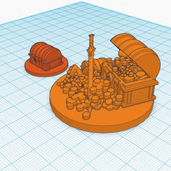 treasure.png Download free STL file Treasure Chests 25mm scale miniature Dungeons & Dragons • 3D printer template, CaptainRob