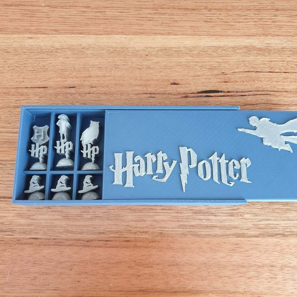 20201028_103524.jpg Download free STL file Harry Potter Chess set and display box • 3D printer object, CheesmondN