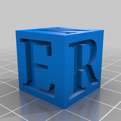20mm_Ersin_Cube.png Download free STL file 20mm Calibration Cube with E-R-S-I-N letters. • 3D printing model, ersinkecis