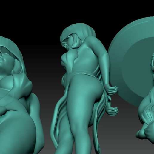 ZBrush Document2.jpg Download STL file sexy Reaper girl  • 3D print template, jexes20092