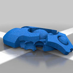 Body_No_legs.png Download free STL file Space Zombie Ankle Biter • 3D print object, PiperMakes