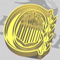 cortante-rc.png Download STL file Central rosary cookie cutter • 3D printing design, julianadam