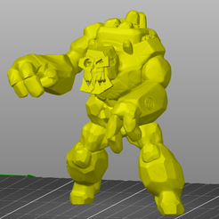 2020-03-03.png Download free STL file Rogue Idol of the Orc Gods • 3D printing object, Shiaic3D
