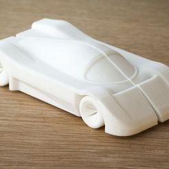car_display_large.jpg Download free STL file car (mercedes c9 inspired) • 3D print design, Yazhmog