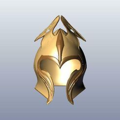 1.jpg Download STL file Mirkwood Infantry Helm • 3D printer model, 3Agraphic
