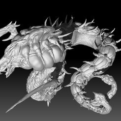 Render_05.png Download STL file Sliver Queen MTG • 3D print object, rodgarheliz