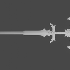 untitled22.png Download STL file Espada de Viego - modelo basado en In-game + artes. • 3D printing object, Only3DThatyouNeed