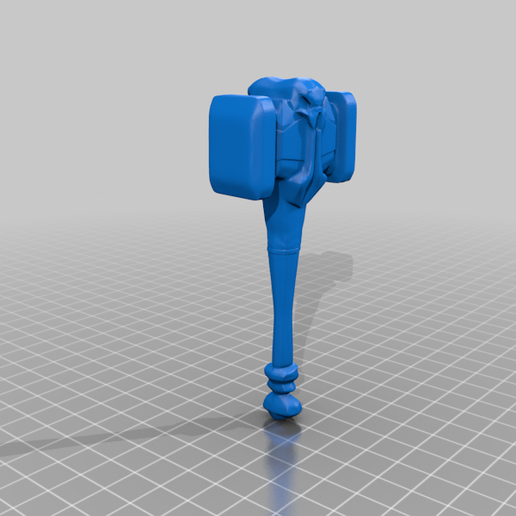 HammerGreatBanditKing.png Download free STL file Fable Original Hammers & Maces x11 • 3D printer design, CharlieVet