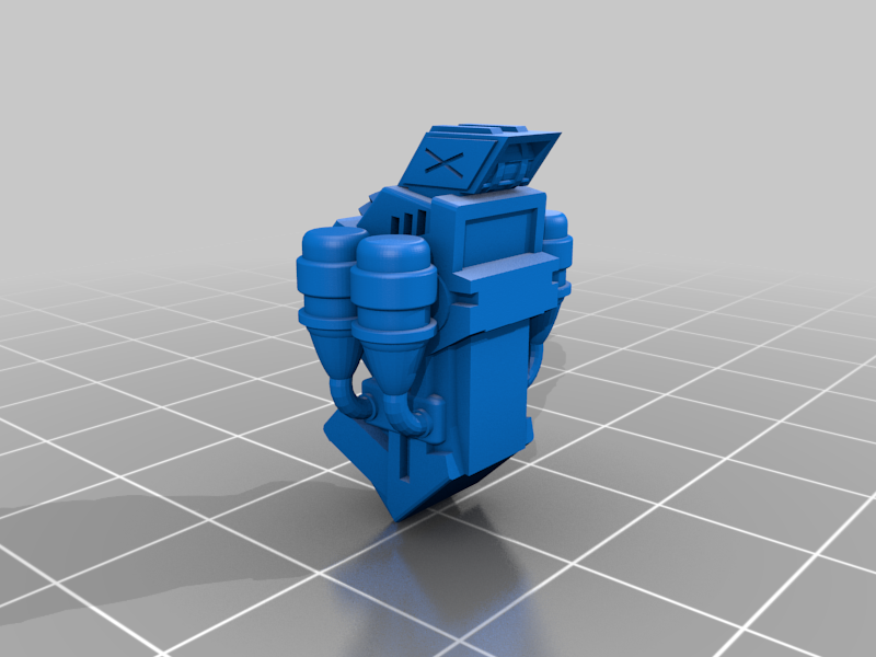 GueRonVesa_Apothecary_Backpack_1.png Download free STL file Gue'Ron'Vesa - Apothecary Upgrade Kit • 3D print template, El_Mutanto