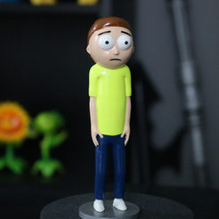 Capture d'écran 2017-07-19 à 19.30.52.png Download free STL file Morty Smith [Rick and Morty] • 3D printing design, ChaosCoreTech